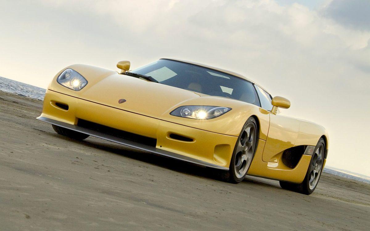 Cars Koenigsegg CCX Yellow wallpapers (Desktop, Phone, Tablet …