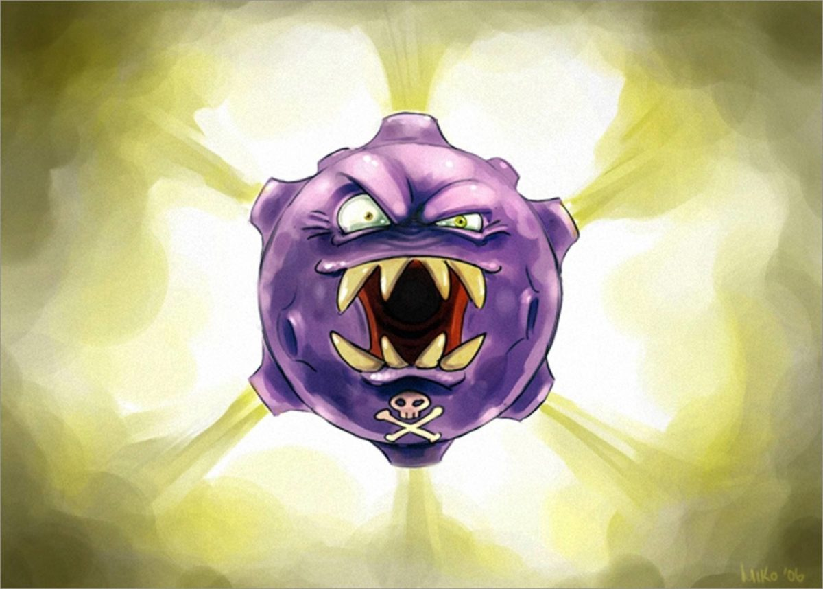 10 Koffing (Pokémon) HD Wallpapers | Background Images – Wallpaper …