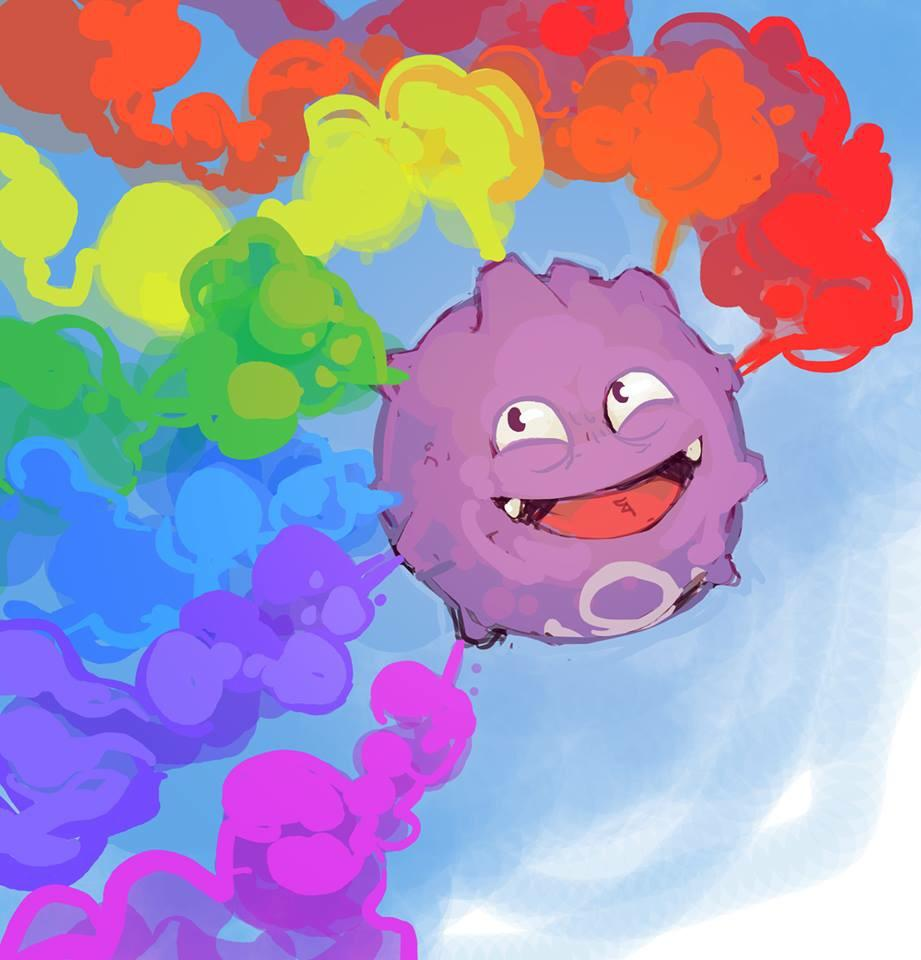 Koffing clipart collection