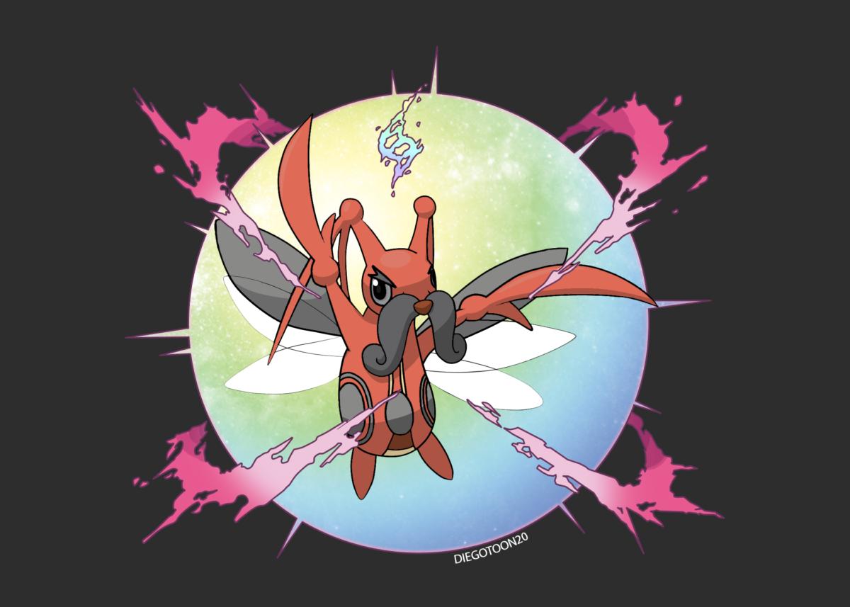 Pokemon Stellar Pearl: Mega Kricketune by Diegotoon20 on DeviantArt