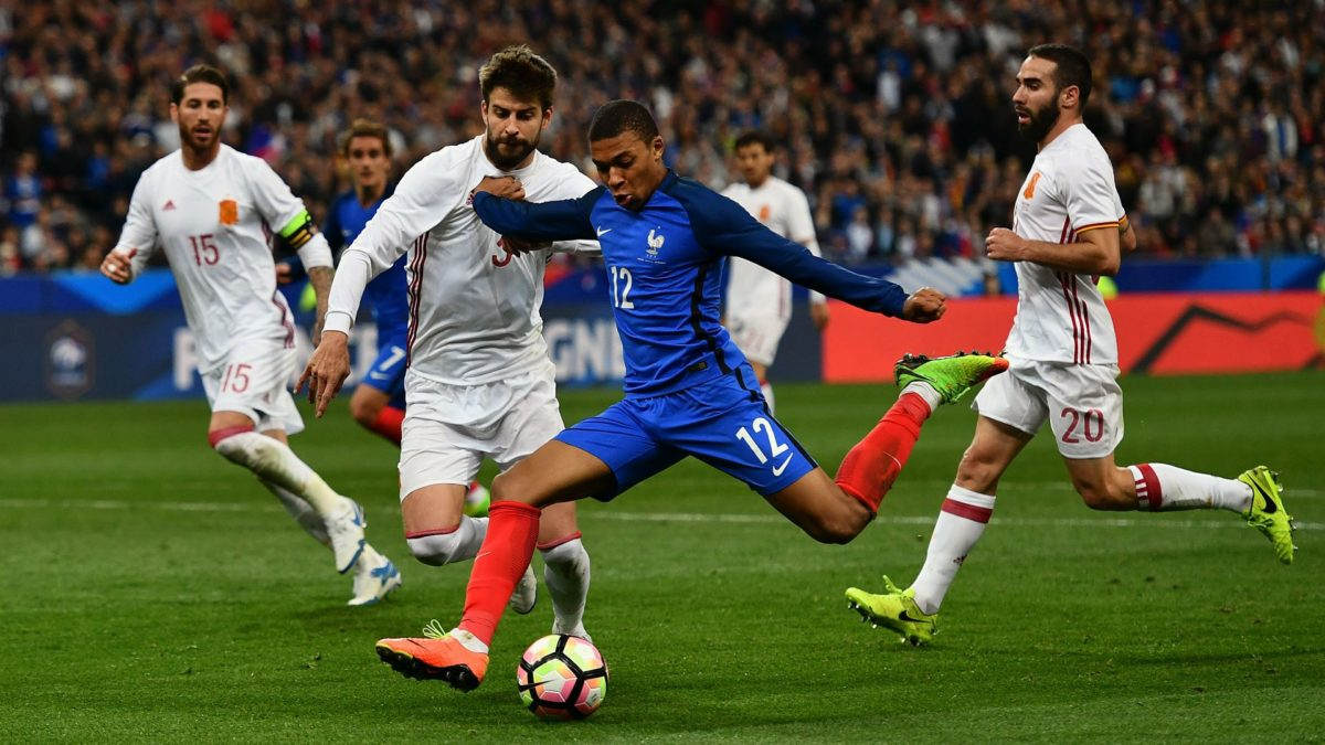 Mbappe to be included in France U20 squad | INTERNATIONAL-FRIENDLIES …
