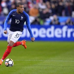download Matchs amicals » acutalités » Mbappe shines as France cruise past Russia
