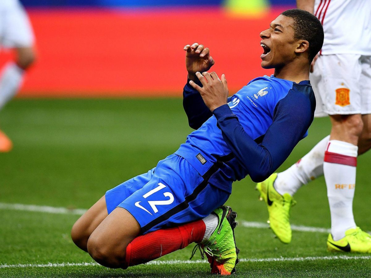 Kylian Mbappe looks right at home despite France's young guns going …