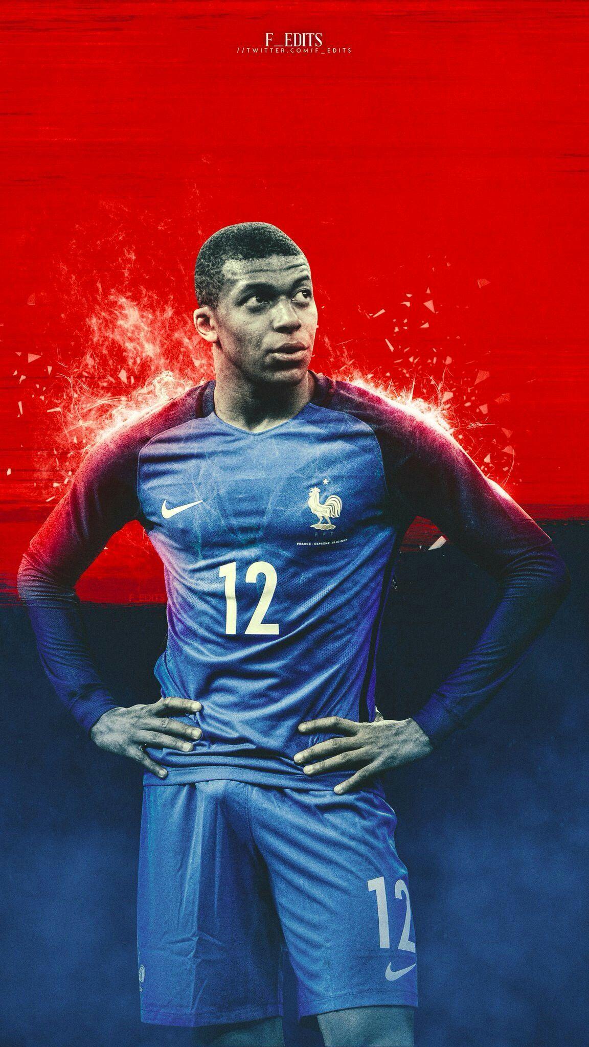 Kylian Mbappé France | Affiche de football | Pinterest | France …