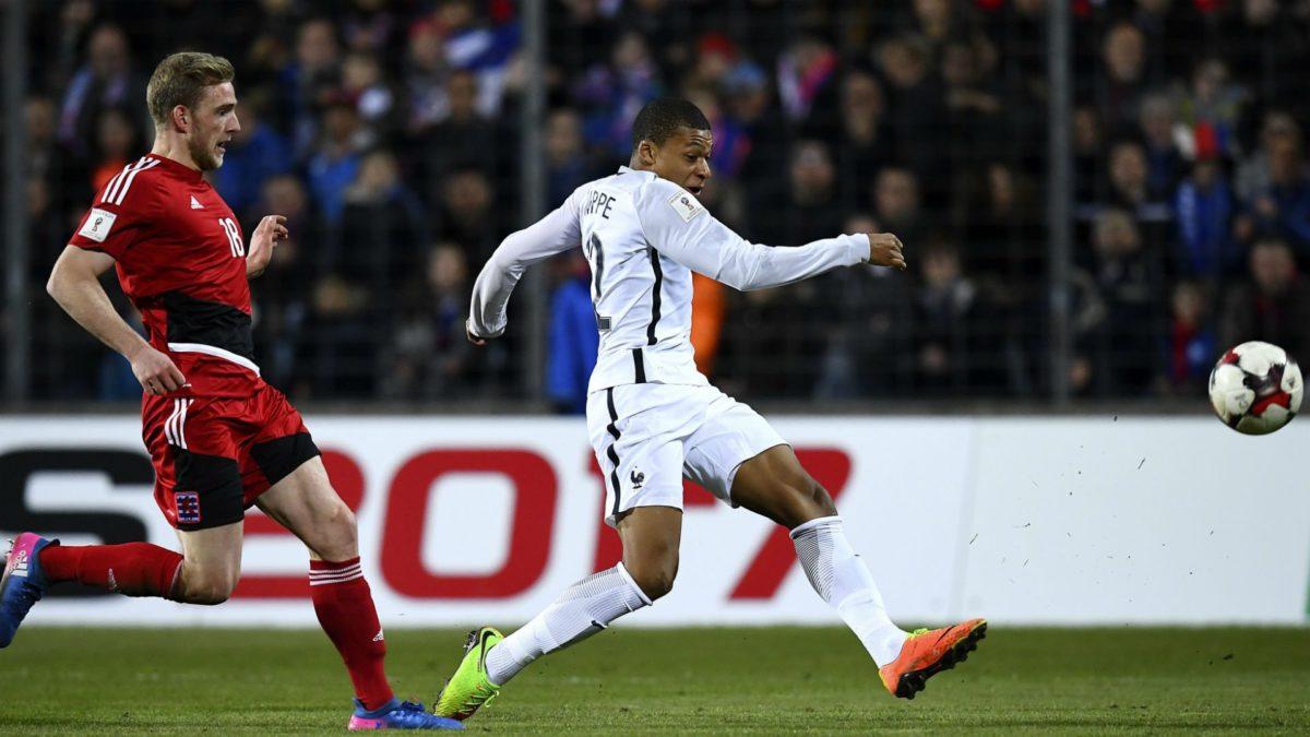 Kylian Mbappe finds France step up 'easy' | Goal.com