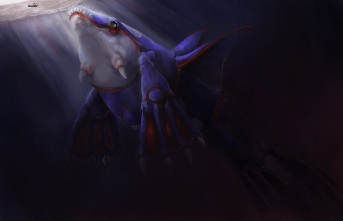 28 Kyogre (Pokémon) HD Wallpapers | Background Images – Wallpaper Abyss