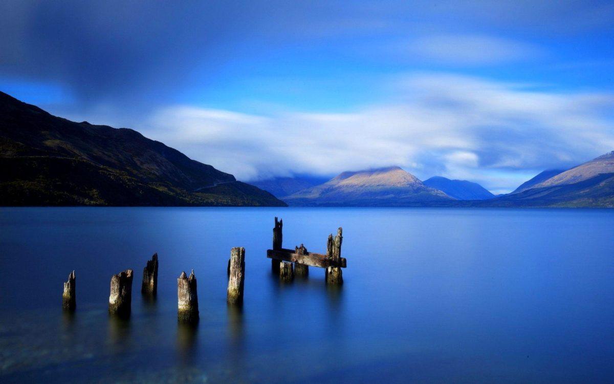 Blue-Lake-Wallpapers – HDWallpaperSets.Com