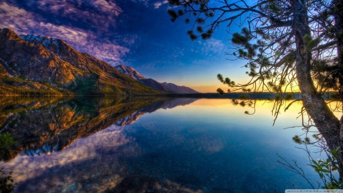 Beautiful Lake HD desktop wallpaper : High Definition : Fullscreen …