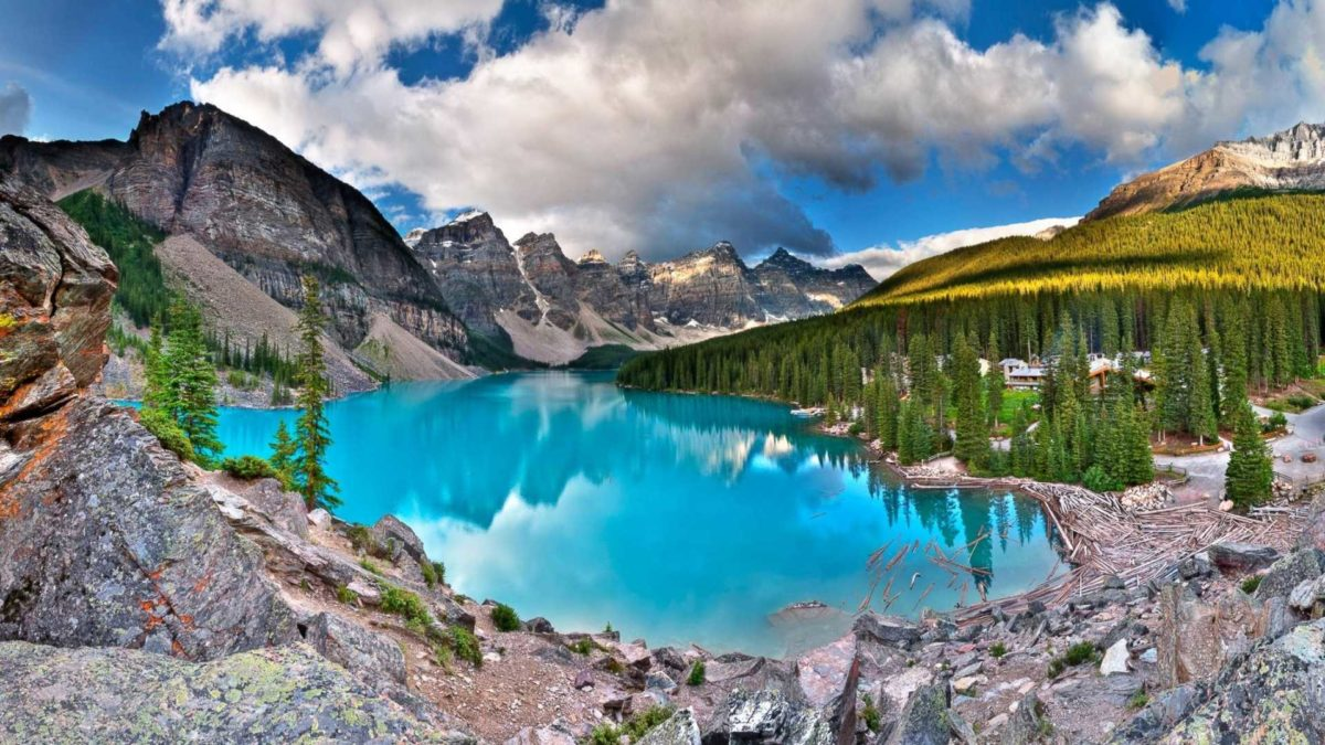 Moraine Lake HD Wallpapers Best Colection Of Beautiful Lake