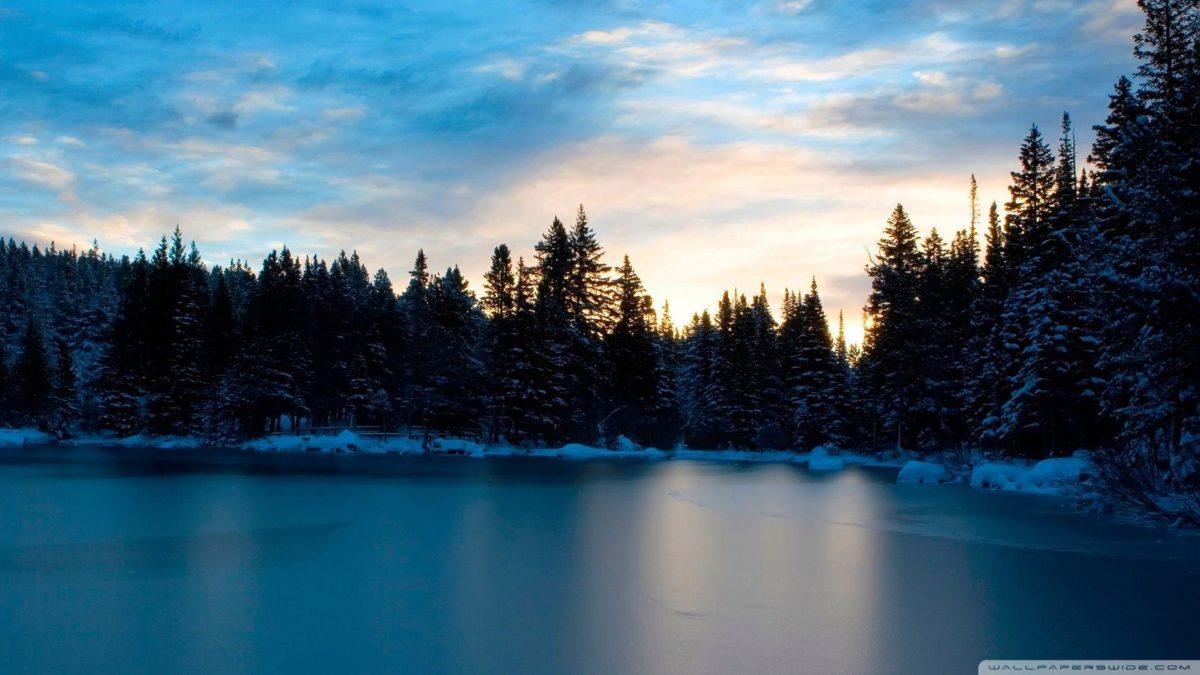 Frozen Lake HD desktop wallpaper : Widescreen : High Definition …