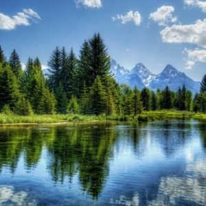 download Mountain Lake Wallpapers HD