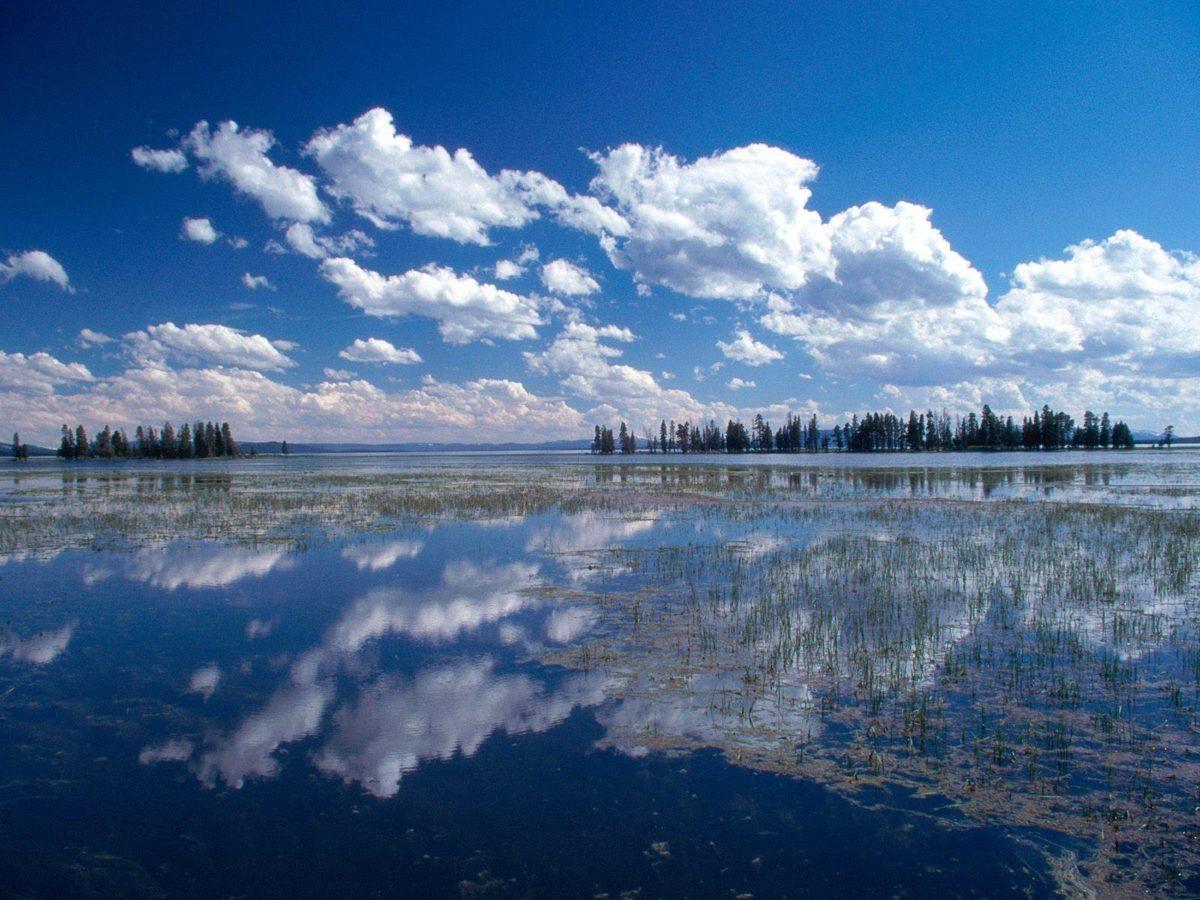 Blue Lake Wallpaper Landscape Nature Wallpapers in jpg format for …