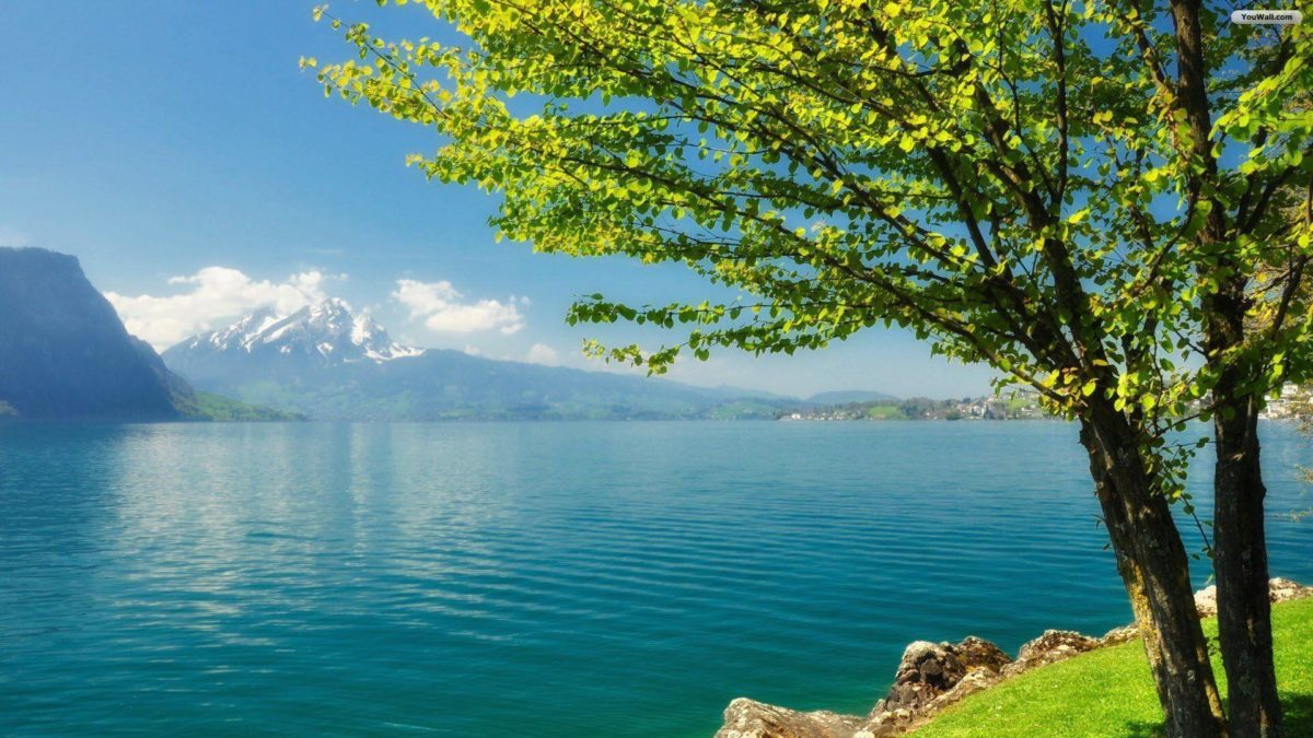 YouWall – Beautiful Quiet Lake Wallpaper – wallpaper,wallpapers …