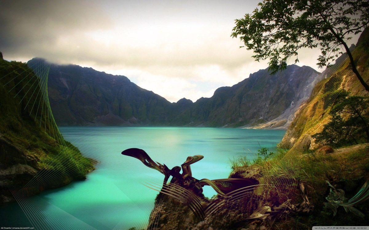 Mountain Lake HD desktop wallpaper : High Definition : Fullscreen …