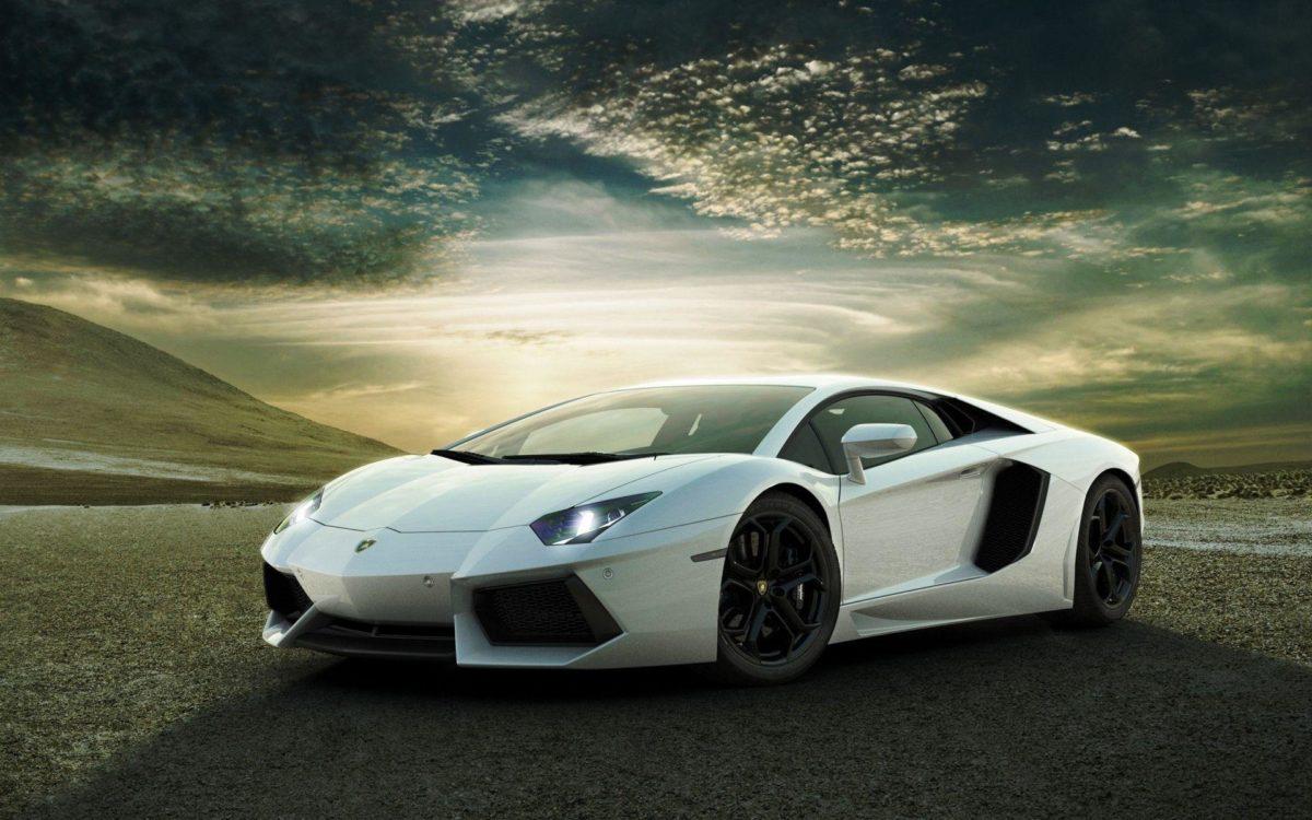 White Lamborghini Background in Cars – Wugange.