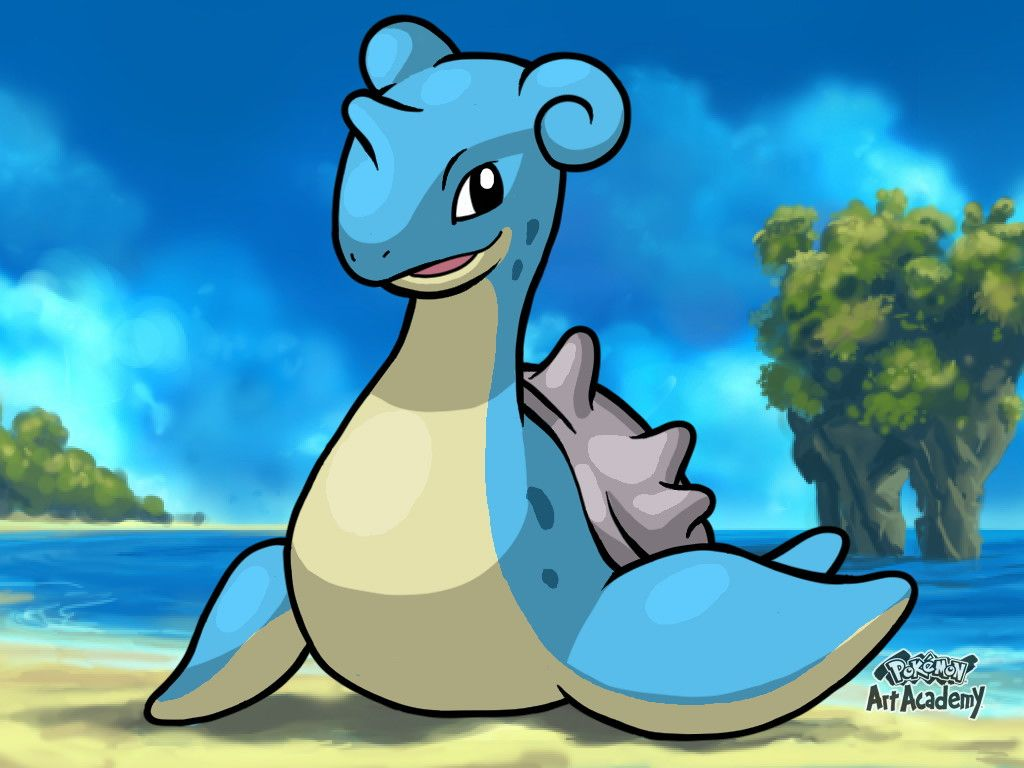 Pokemon Art Academy Graduate Course 2: Lapras by PkGam on DeviantArt