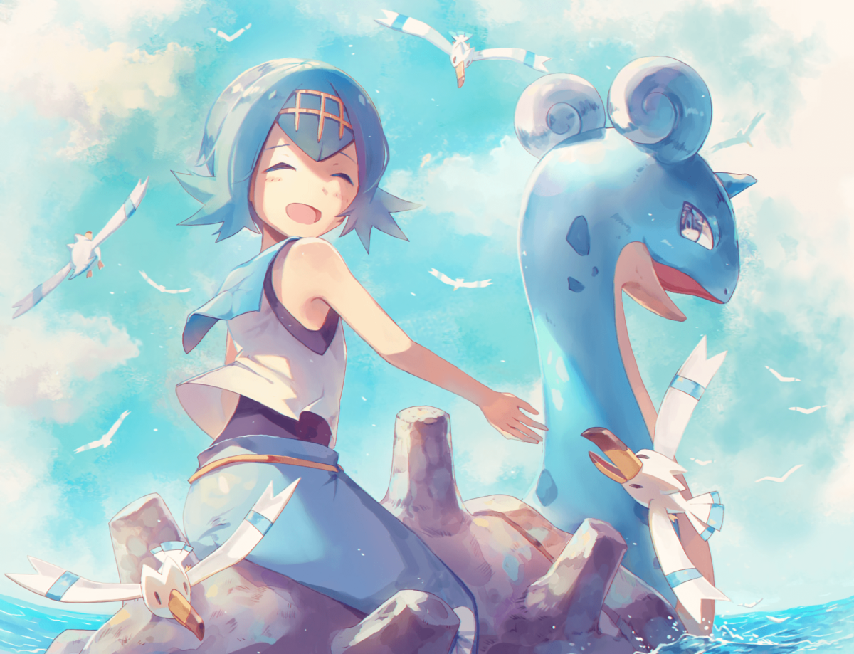 27 Lapras (Pokémon) HD Wallpapers | Background Images – Wallpaper …