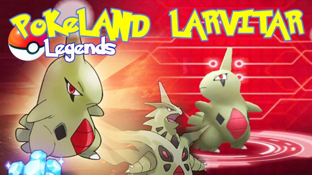 POKELAND LEGENDS – The $100 Larvitar Pokemon – YouTube