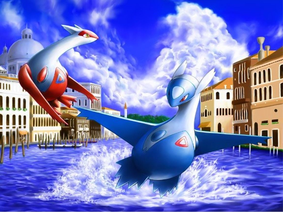 Latias and Latios images Eons HD wallpaper and background photos …