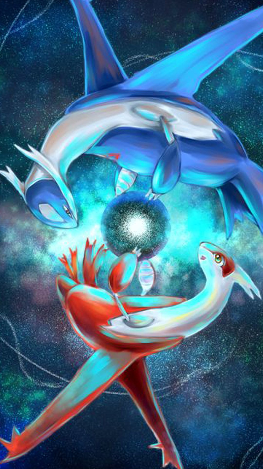 Latias & Latios | Pokemon iPhone X wallpapers | iPhone Wallpaper