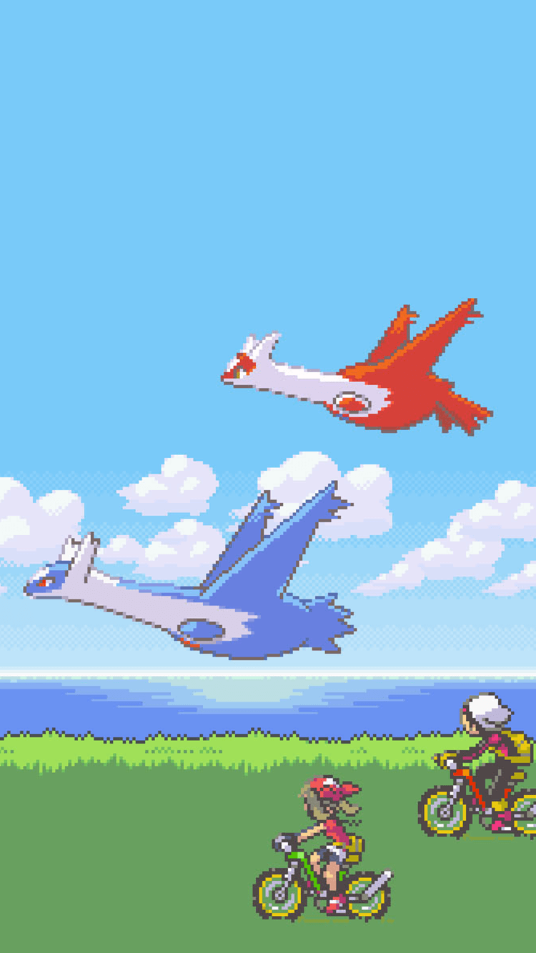 Anyone know if there's a live wallpaper with latios and latias …