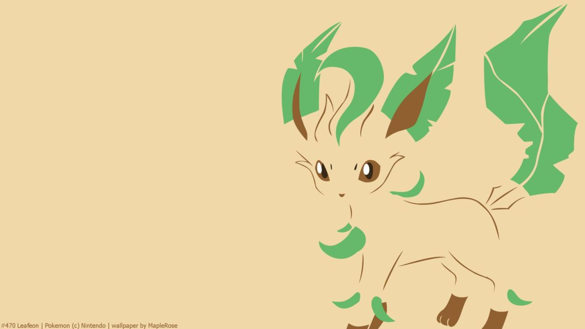 Leafeon Full HD Wallpaper and Background Image | 1920×1080 | ID:481198