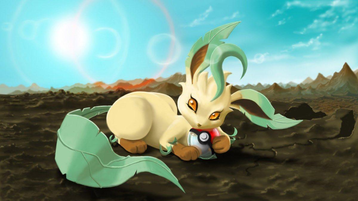 Leafeon – Pokemon – WallDevil