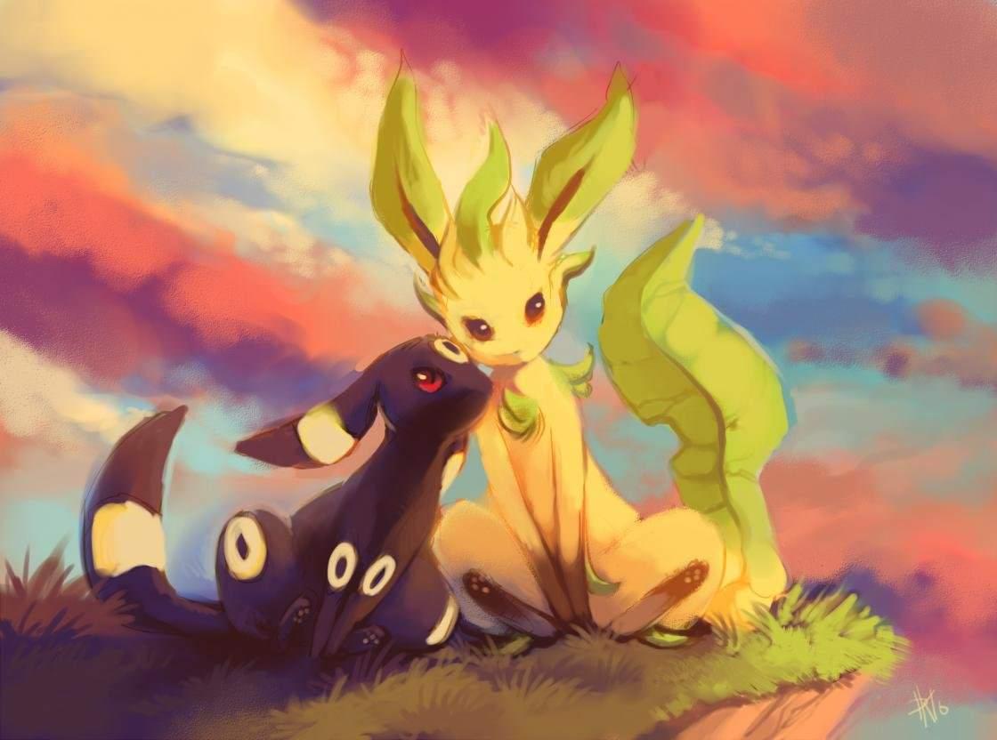 Leafeon (Pokemon) wallpapers HD for desktop backgrounds
