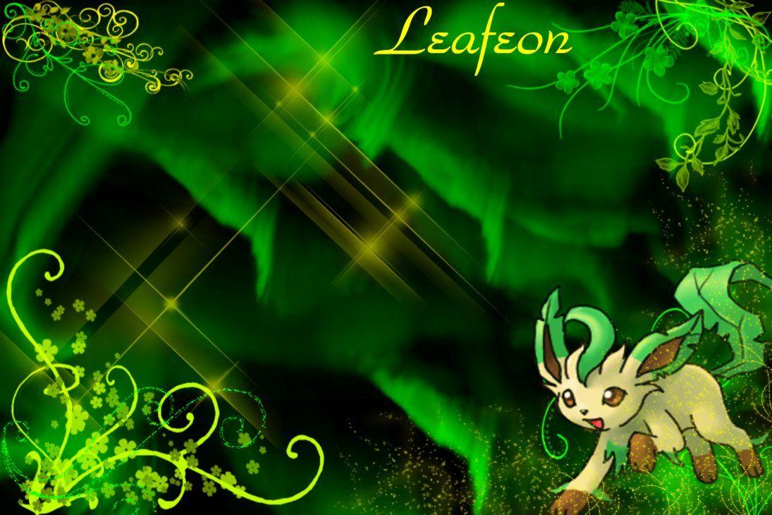Leafeon Wallpaper by SlaveWolfy on DeviantArt