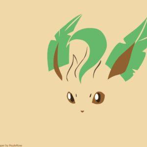 download Eevee, Eeveelution, Leafeon, Minimal, Pokemon HD Wallpaper …