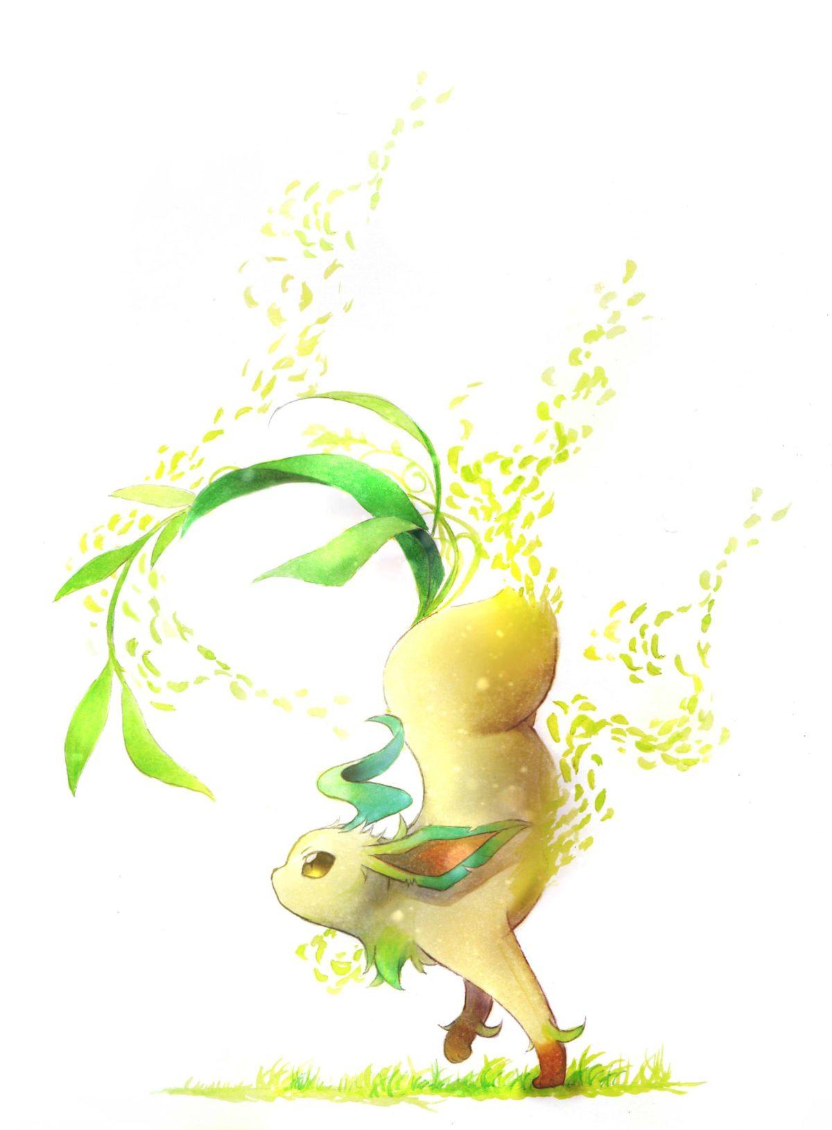 Leafeon – Pokémon – Mobile Wallpaper #2120321 – Zerochan Anime Image …
