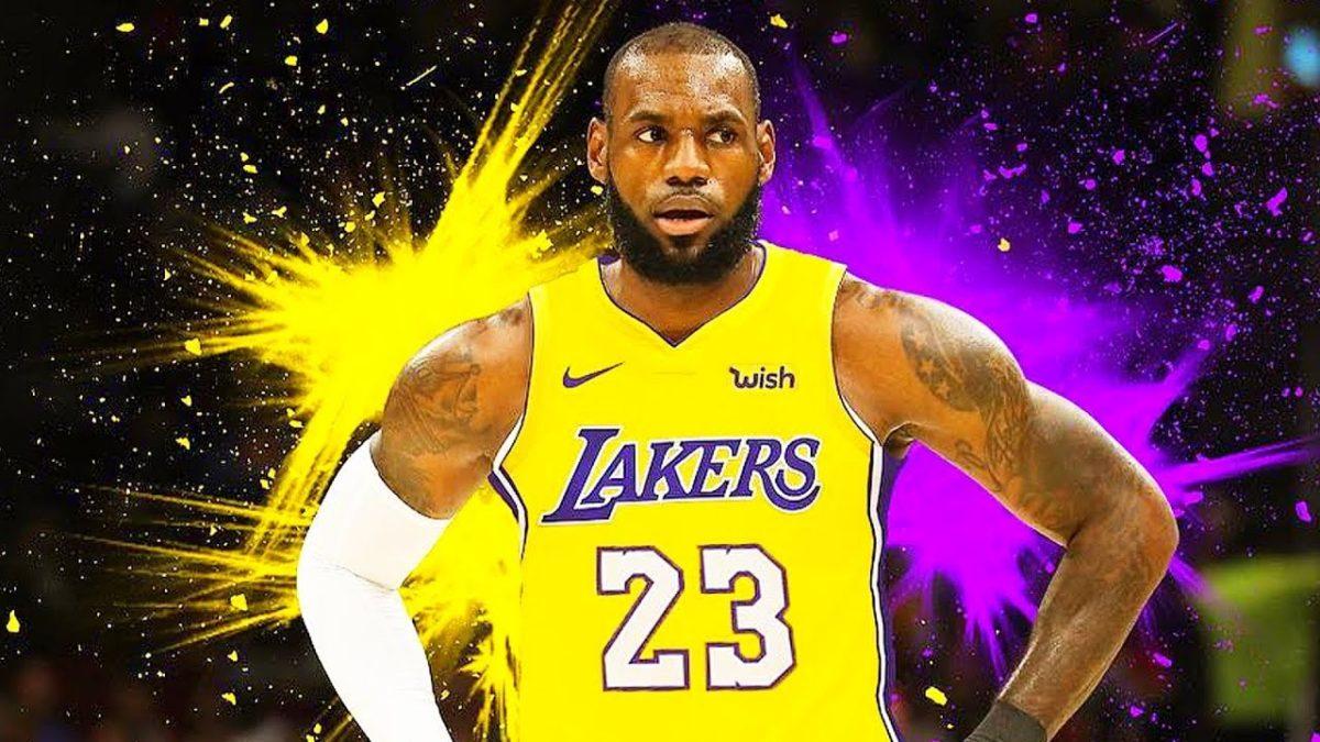 Nike LeBron James LA Lakers