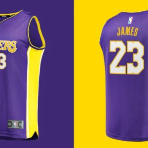 download LeBron James jersey Los Angeles Lakers