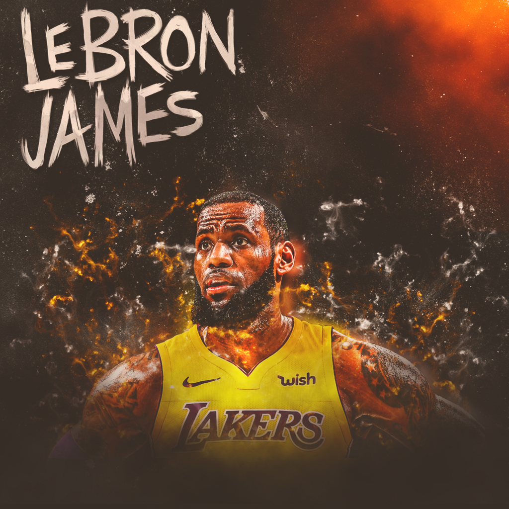 BOOOM LeBron James by nidzoart