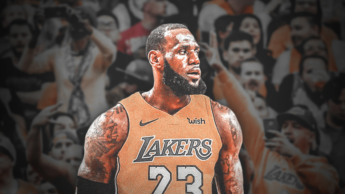 LeBron James Los Angeles Lakers 2018