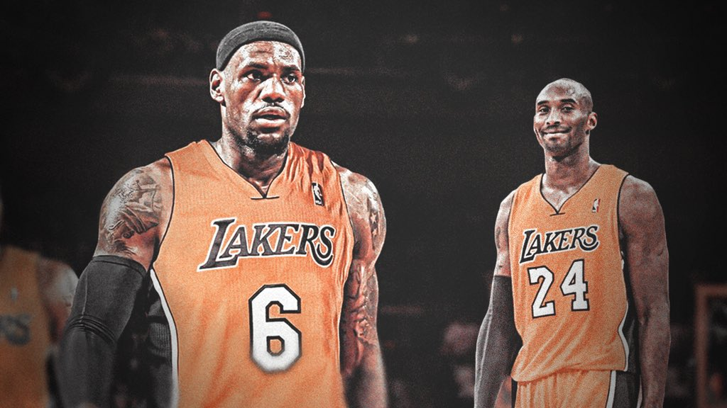 Lebron and Kobe