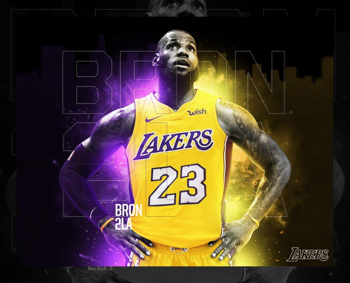 Lebron James Lakers 2018