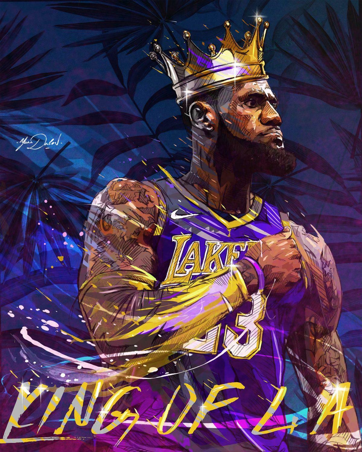 Lebron James Lakers 2018 NBA