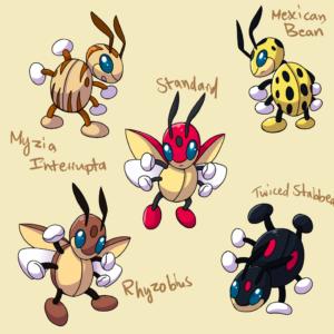 download PokemonSubspecies: Ledian by CoolPikachu29 on DeviantArt