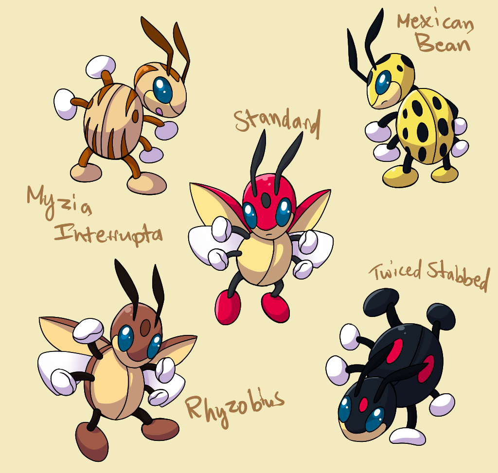 PokemonSubspecies: Ledian by CoolPikachu29 on DeviantArt