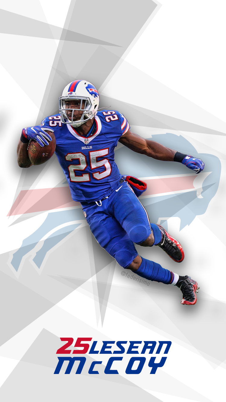 I made a Lesean McCoy phone walpaper. Check it out : buffalobills