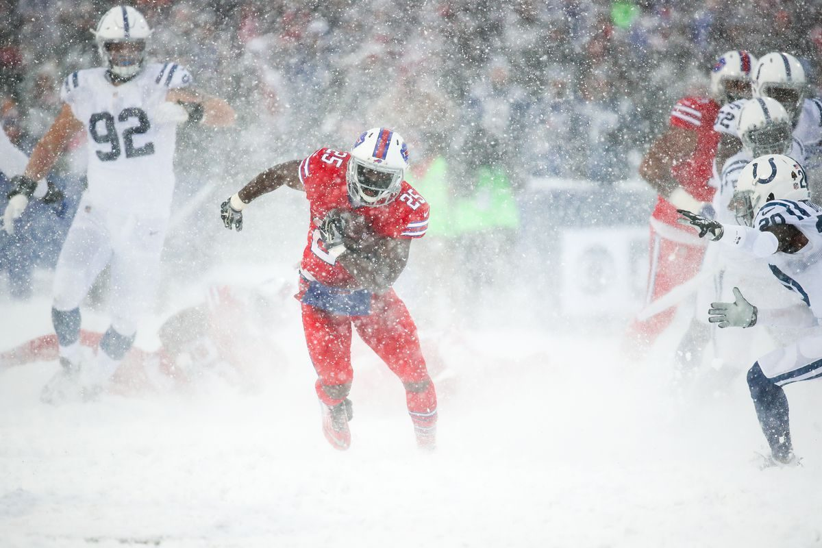 LeSean McCoy racks up 156 yards in a blizzard – Cardiac Hill