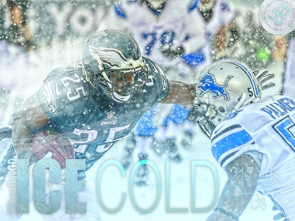 LeSean McCoy Snow | Shea Huening | Flickr
