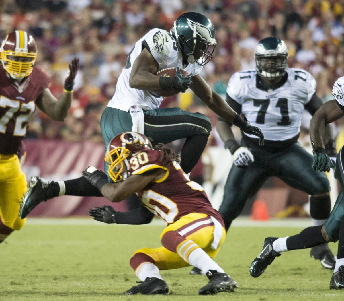 LeSean McCoy Touchdown: Eagles' RB Makes Washington Look Silly On 34 …