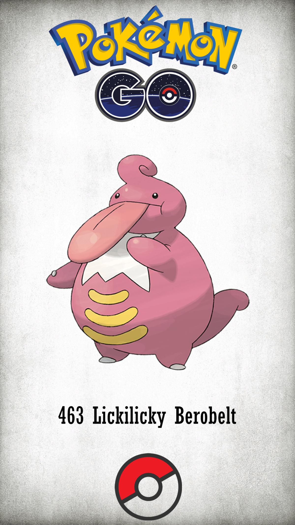 463 Character Lickilicky Berobelt | Wallpaper