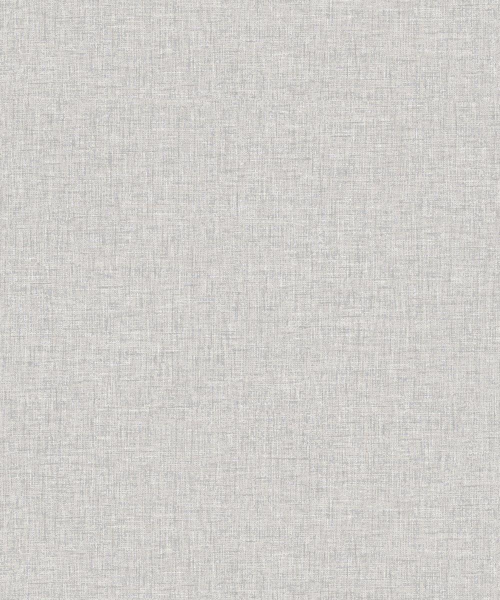 Linen Texture Light Grey Wallpaper – DecorSave Wallpapers