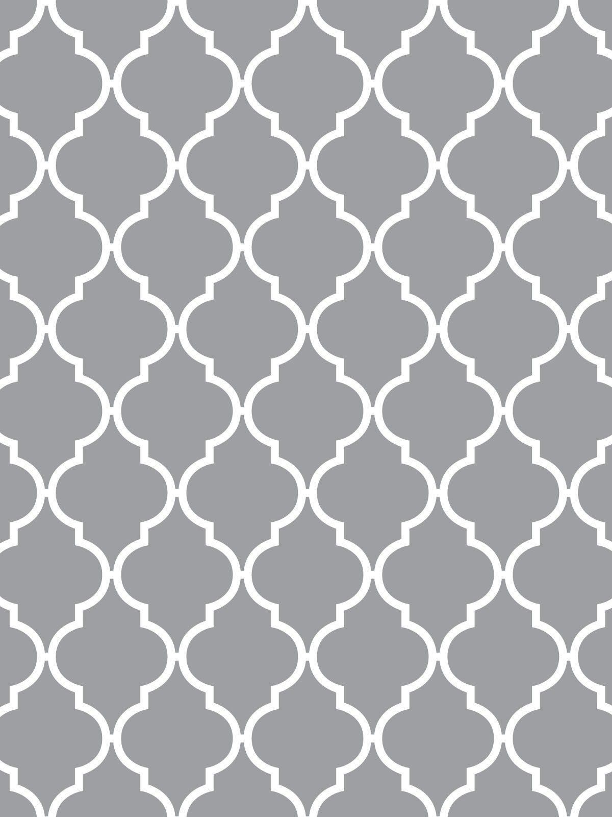 Make it…Create–Printables & Backgrounds/Wallpapers: Quatrefoil …