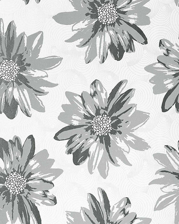 Vinyl wallpaper wall covering EDEM 058-26 Retro sweet summer floral …