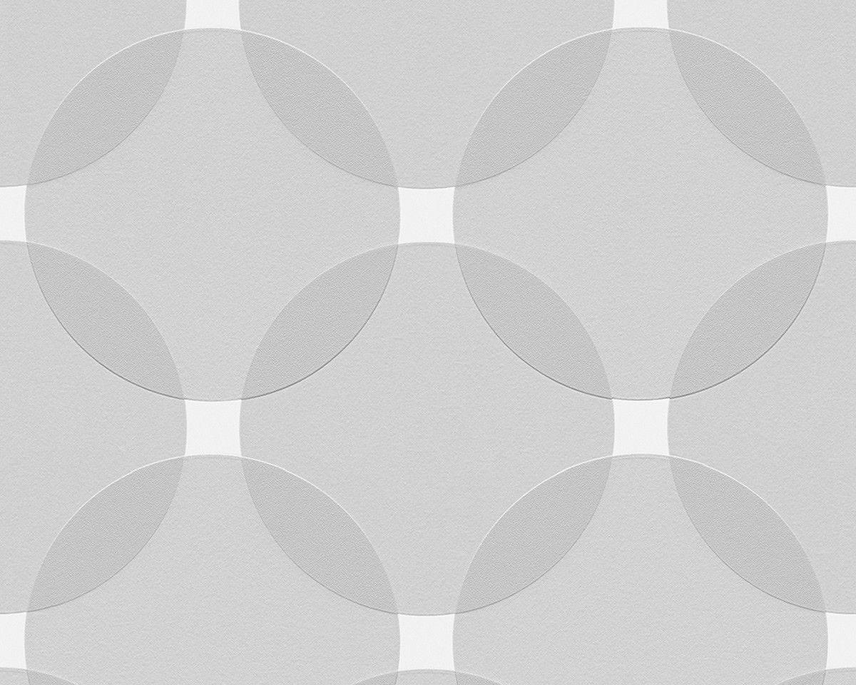 Vliestapete Werner Aisslinger Grafisch grau 95579-3 | Jugendzimmer …