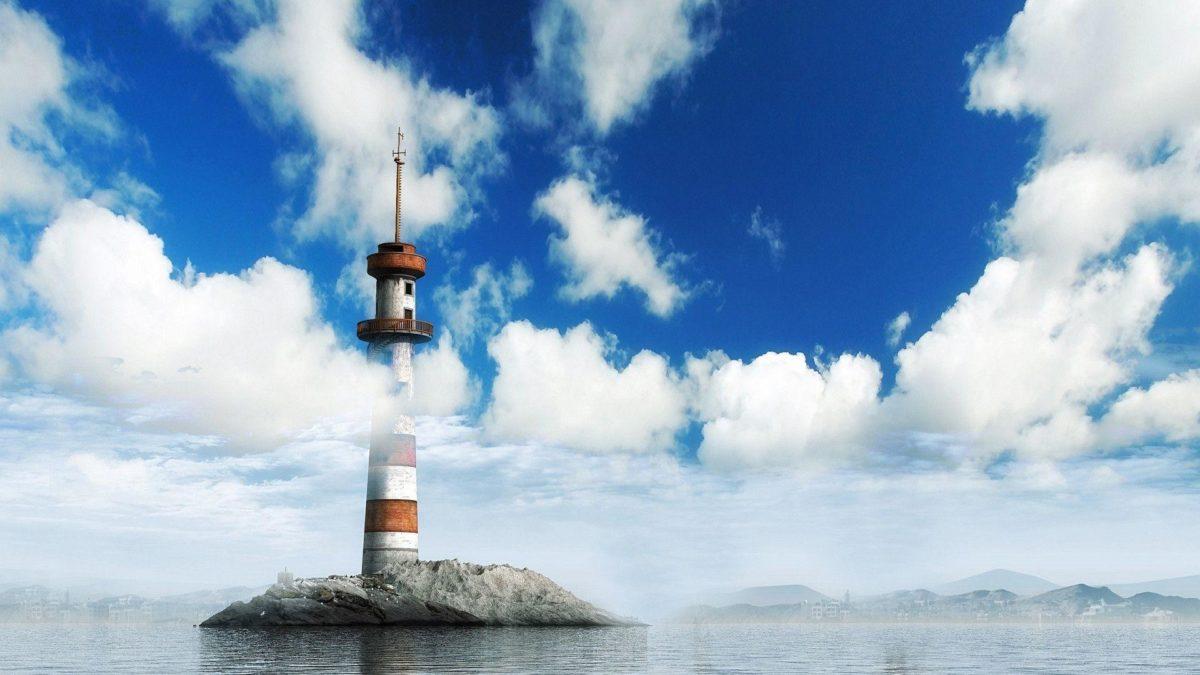 1920×1080 A Lighthouse Wallpaper